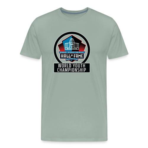 PFHOF World Youth Champ White Outline - Men's Premium T-Shirt