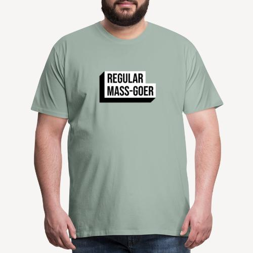 REGULAR MASS-GOER - Men's Premium T-Shirt