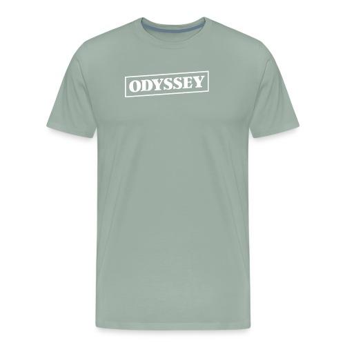 Odyssey Outline White - Men's Premium T-Shirt
