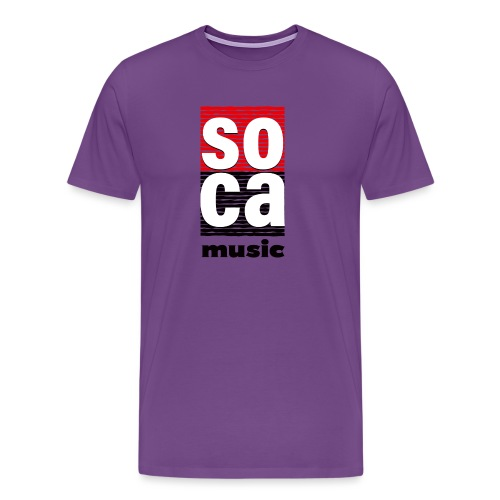 Soca music - Men's Premium T-Shirt