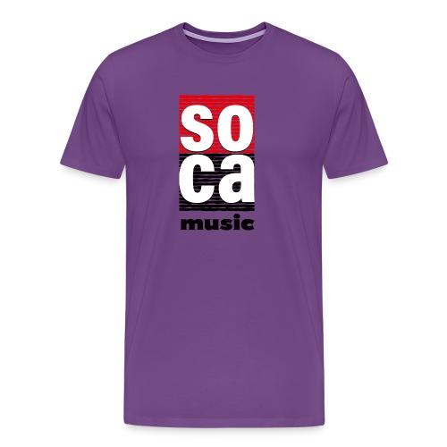 Soca music - Men's Premium T-Shirt