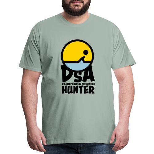 Disabled Surfers Association Hunter - Dark Logo - Men's Premium T-Shirt