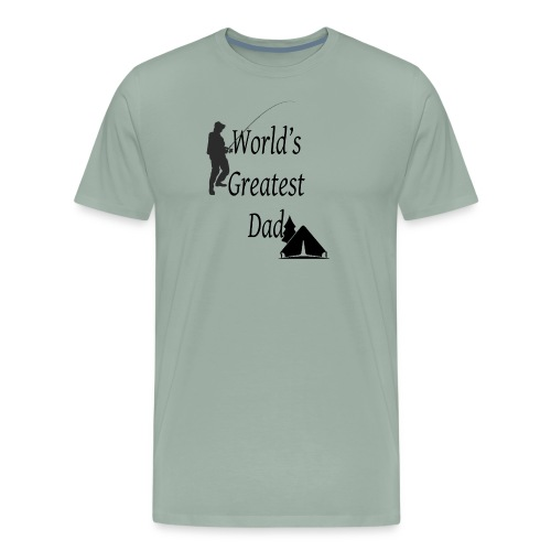 World s greatest dad - Men's Premium T-Shirt
