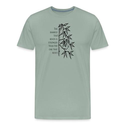The Bamboo that bends - Men's Premium T-Shirt