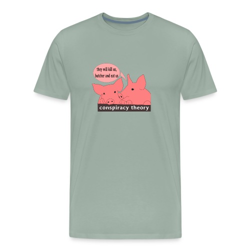 conspiracy theory - Men's Premium T-Shirt