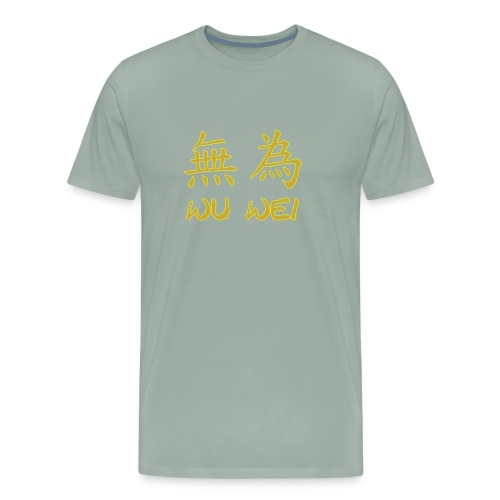 wu wei - Men's Premium T-Shirt