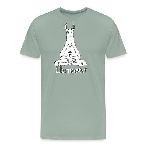 Llamaste Hoodie Logo - Men's Premium T-Shirt