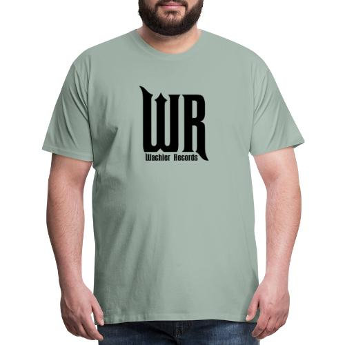 Wachler Records Dark Logo - Men's Premium T-Shirt