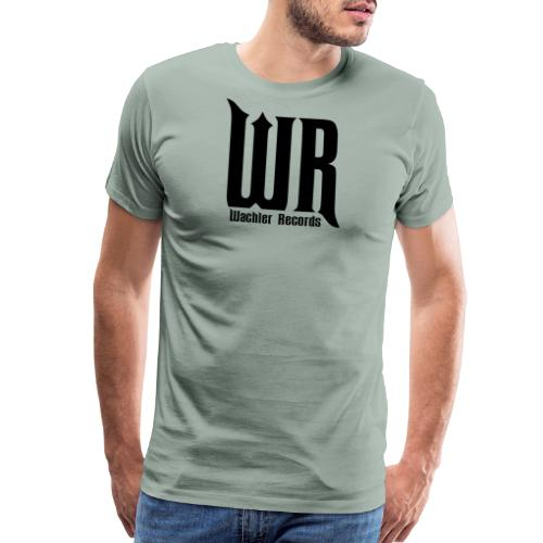 Wachler Records Dark Logo - Men's Premium T-Shirt