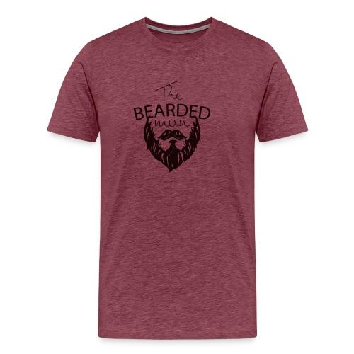 The bearded man - Men's Premium T-Shirt