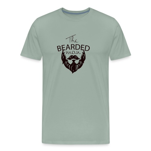 The bearded man - Men's Premium T-Shirt