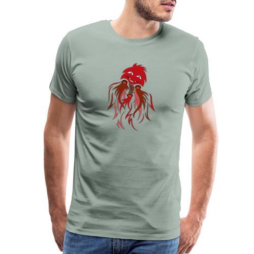 red halloween ghost - Men's Premium T-Shirt
