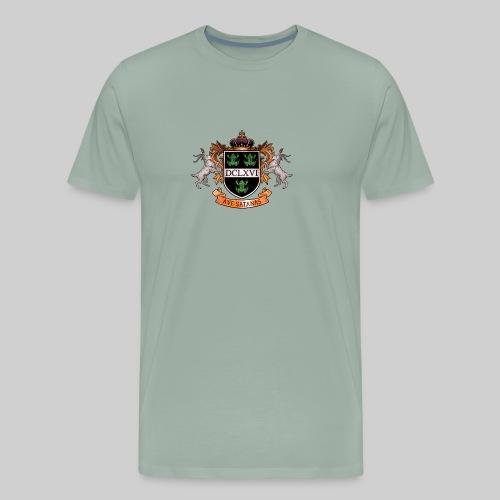 Satanic Heraldry - Coat of Arms - Men's Premium T-Shirt