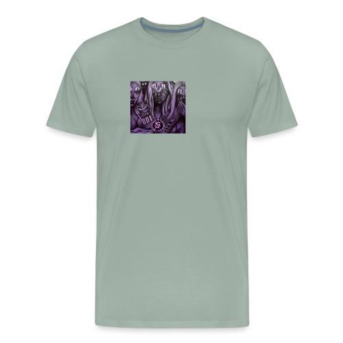 see no hear no - Men's Premium T-Shirt