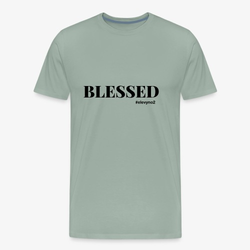 Blessed - Black - Men's Premium T-Shirt
