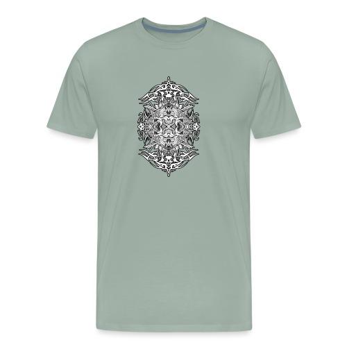 Eternal Voyage 4 - B&W - Men's Premium T-Shirt