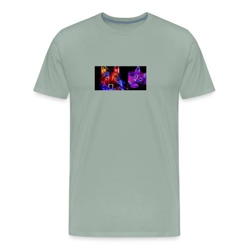 neon animals - Men's Premium T-Shirt