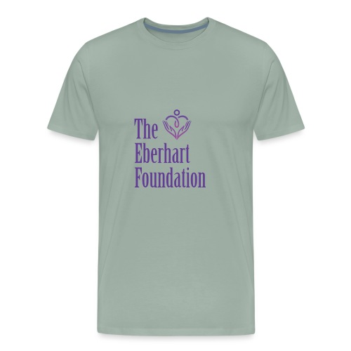 The Eberhart Foundation square logo color - Men's Premium T-Shirt