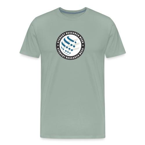 Student Research Week circle - Men's Premium T-Shirt