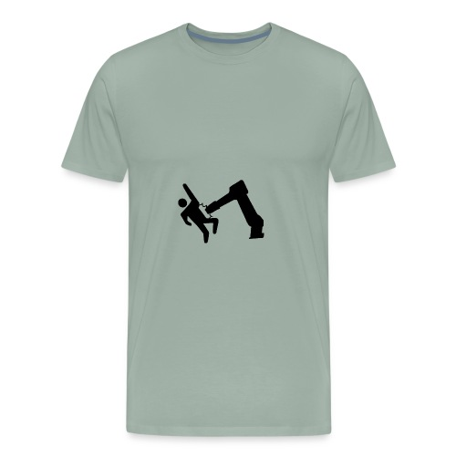 Robot Wins! - Men's Premium T-Shirt