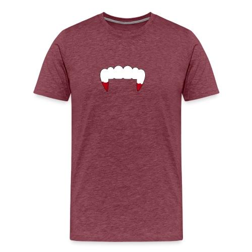 Vampire Fangs - Men's Premium T-Shirt