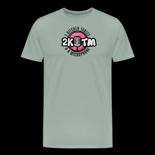 Two Kitchen Tables & A Microphone - Men's Premium T-Shirt