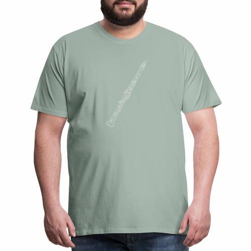 Clarinet · white rotate - Men's Premium T-Shirt