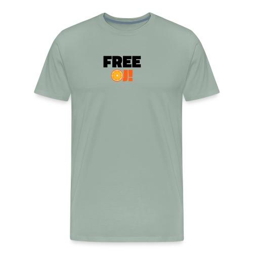 Free O.J. Simpson - Men's Premium T-Shirt
