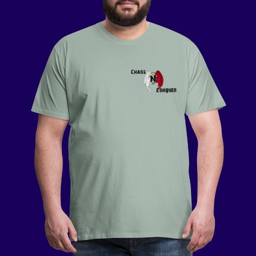 ChaosNConquer Design Logo - Men's Premium T-Shirt