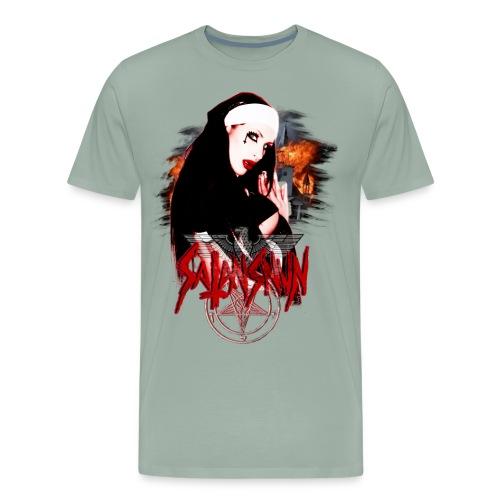 satanss png - Men's Premium T-Shirt