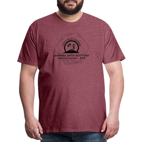 Pikes Peak Gamers Convention 2018 - Clothing - Men's Premium T-Shirt