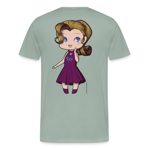Anime Chibi Girl - Men's Premium T-Shirt