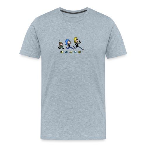 wgj4k pixel - Men's Premium T-Shirt