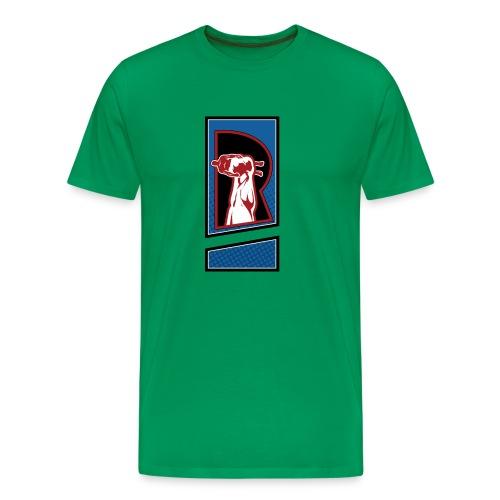 Standard logo Clean Edge - Men's Premium T-Shirt