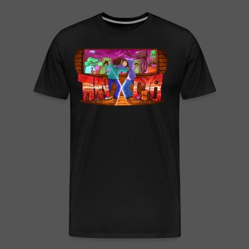 ThnxCya tshirt never say goodbye 2 by Jonas Nacef - Men's Premium T-Shirt