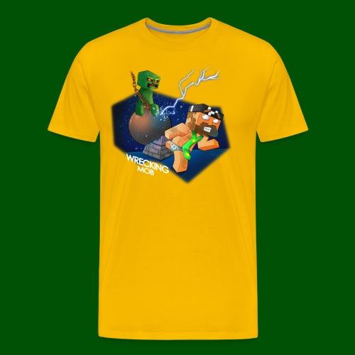 wrecking mob - Men's Premium T-Shirt
