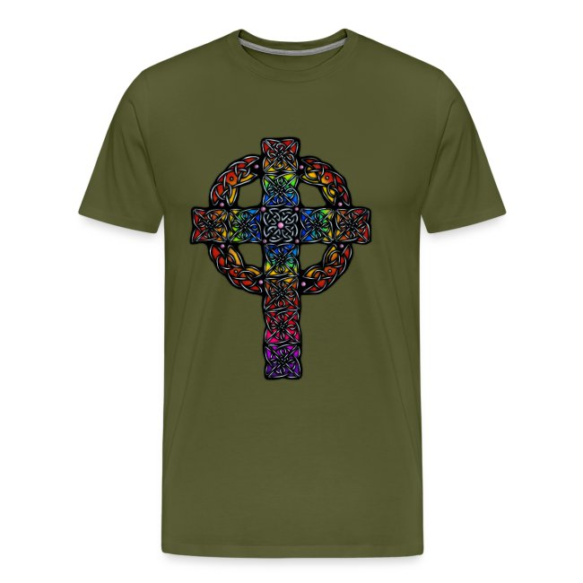 Celtic Cross rainbow