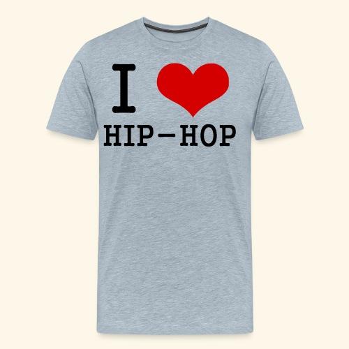 I love Hip-Hop - Men's Premium T-Shirt