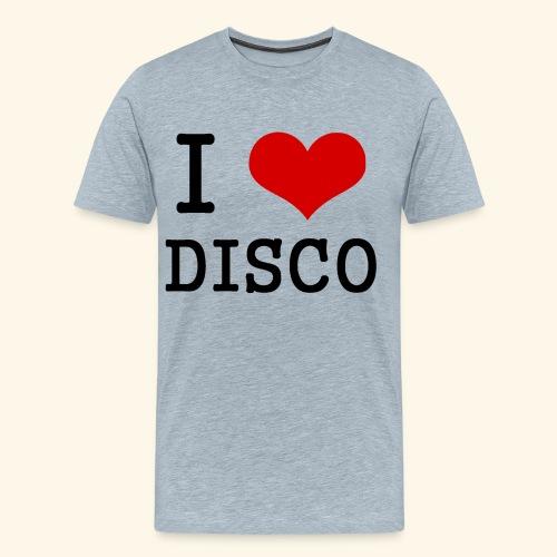 I love disco - Men's Premium T-Shirt