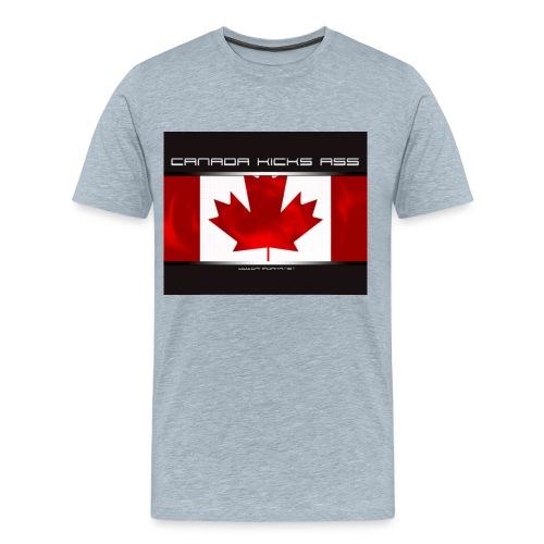 ckaspread02 - Men's Premium T-Shirt