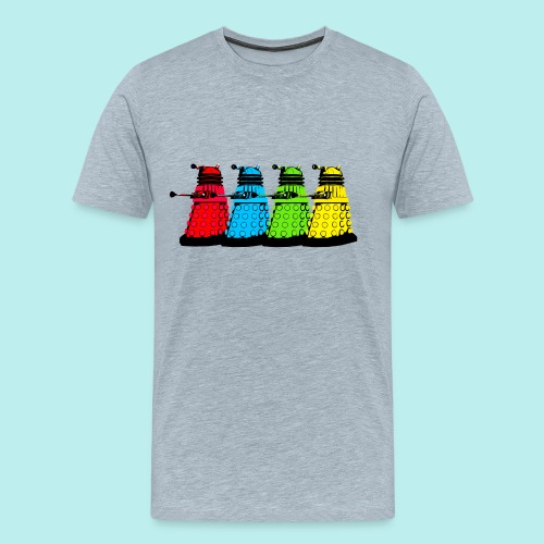 Dalek Four Colours - Men's Premium T-Shirt