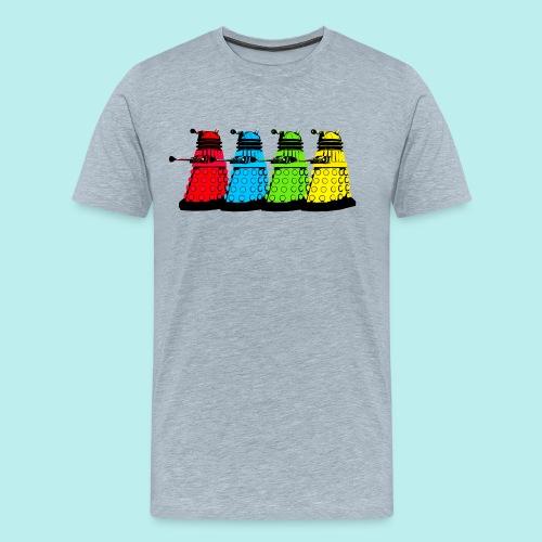 Dalek Four Colours - Men's Premium T-Shirt