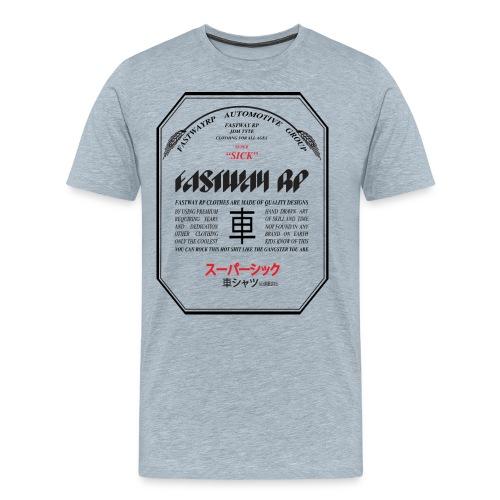 Fastway Beer can - Super Sick Beer Can - Men's Premium T-Shirt