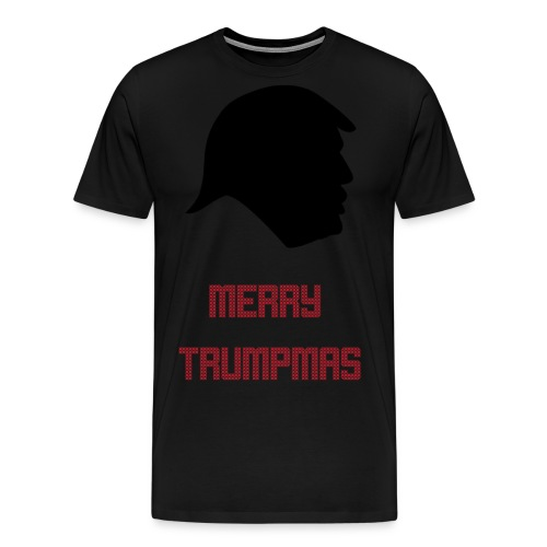 Merry Trumpmas Red - Men's Premium T-Shirt