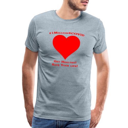 1Million4Covid - Men's Premium T-Shirt