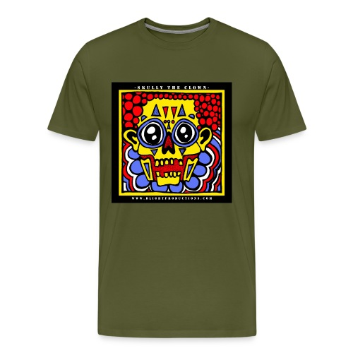 Skully The Clown - Men's Premium T-Shirt