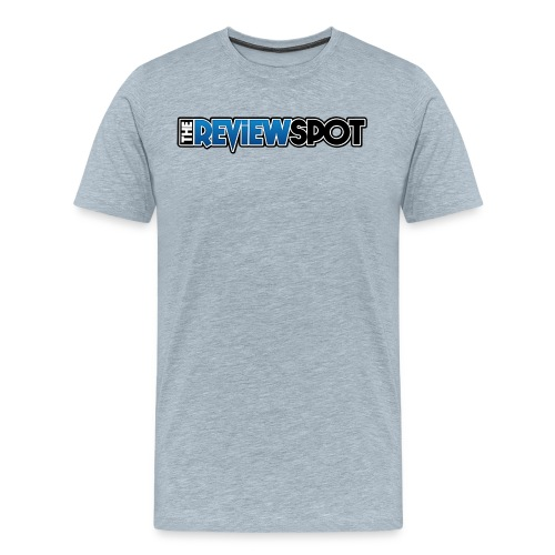 Review Spot Font logo - Men's Premium T-Shirt