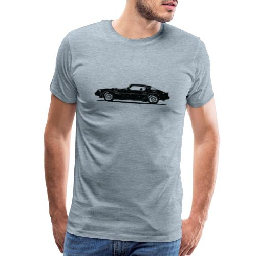 classic car grungy tshirt 01 - Men's Premium T-Shirt