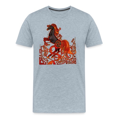 Celtic Horse Night Mare - Men's Premium T-Shirt