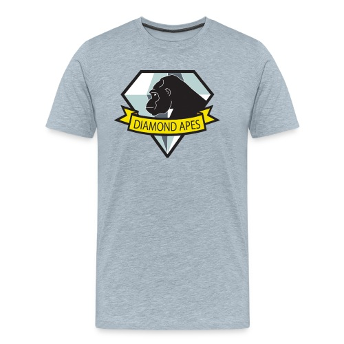 diamondape - Men's Premium T-Shirt
